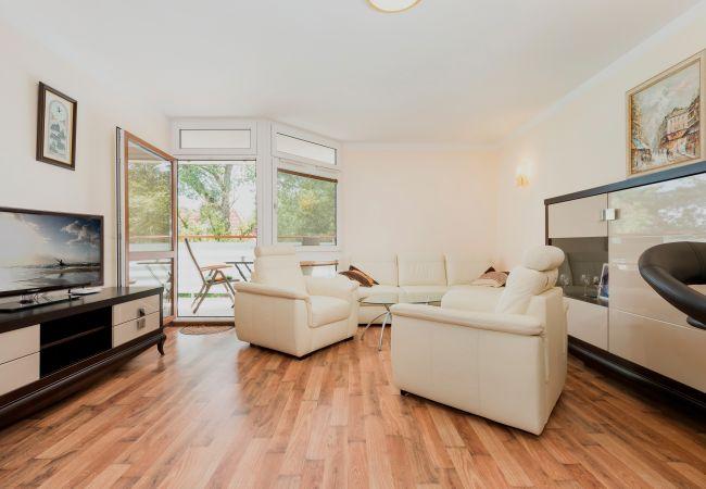 Wohnzimmer, Sofa, Sessel, Fernseher, Fenster, Kaffeetisch, Miete